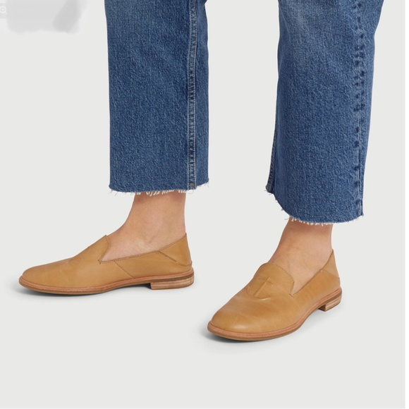 Sperry Seaport Levy Tan Leather Loafers